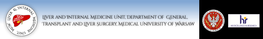Liver and Internal Medicine Unit, Department of  General, Transplant and Liver Surgery, Medical University of Warsaw